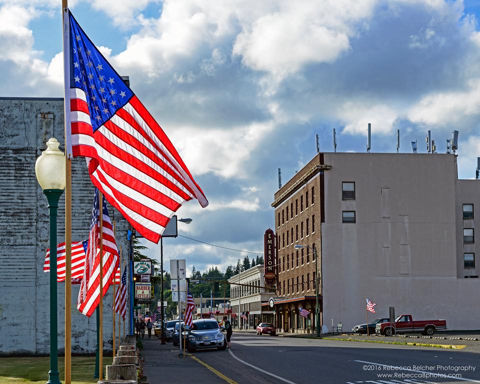 Flag Day 2016 - Hoquiam Washington
