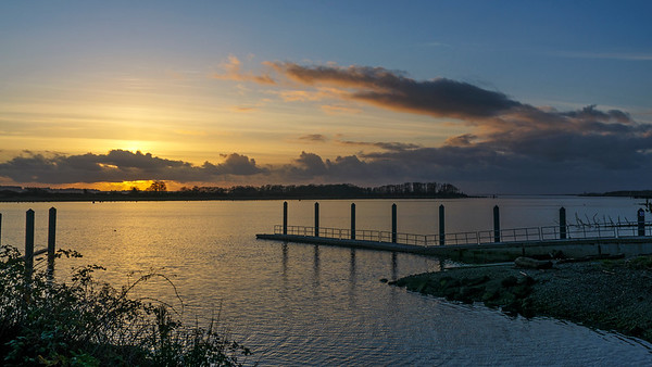 Port of Aberdeen Sunset