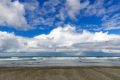 The ocean at Twin Harbors State Park