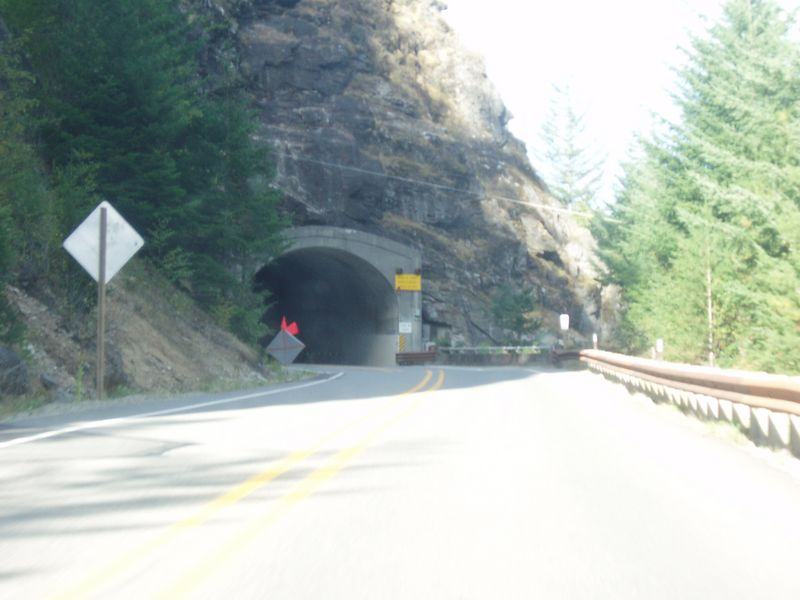 on highway 20 into the Park