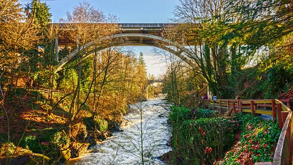 Tumwater Falls Park, Olympia, Washington