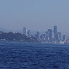 the Seattle skyline, complete with the Space Needle