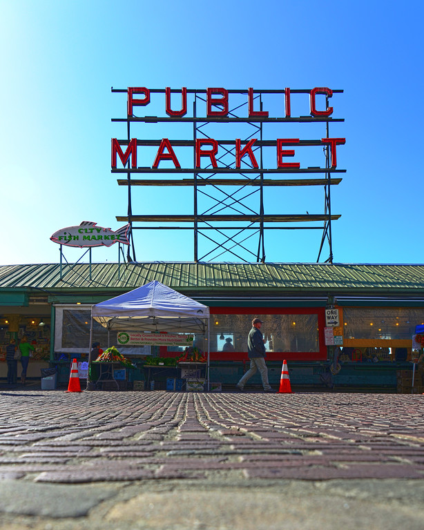 Pikes Place Market in Seattle, WA
