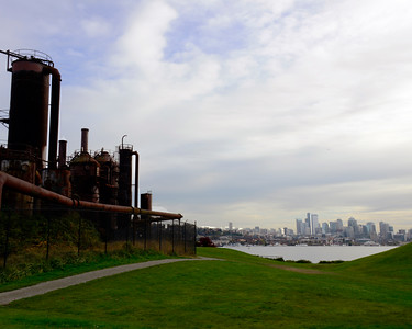 Gas Works Park in Seattle, WA