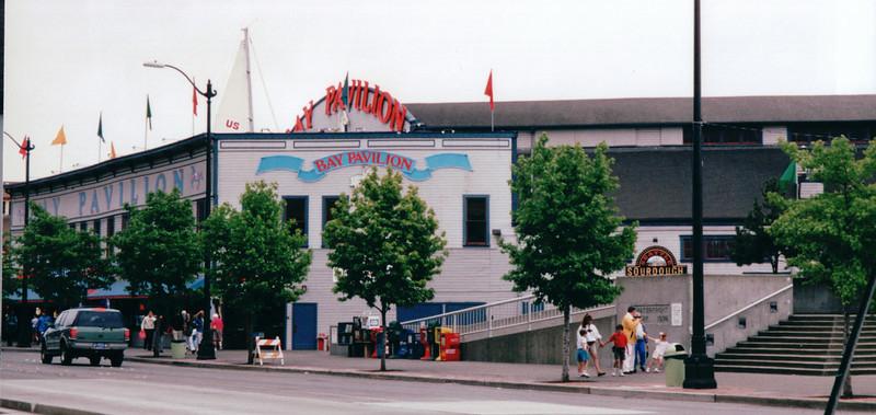 Bay Pavillion - Waterfront Area - Seattle, WA  5-29-98