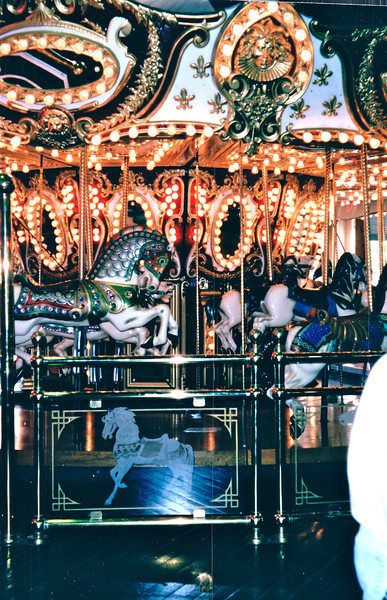 Carousel at Waterfront Area - Seattle, WA  5-29-98