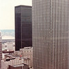 View From Hotel - Donna's 1st NSP Convention - Seattle, WA - Aug. 12-16, 1987