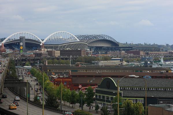 Football and Baseball Stadiums