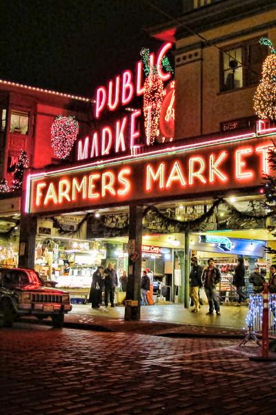 Market Christmas Lights