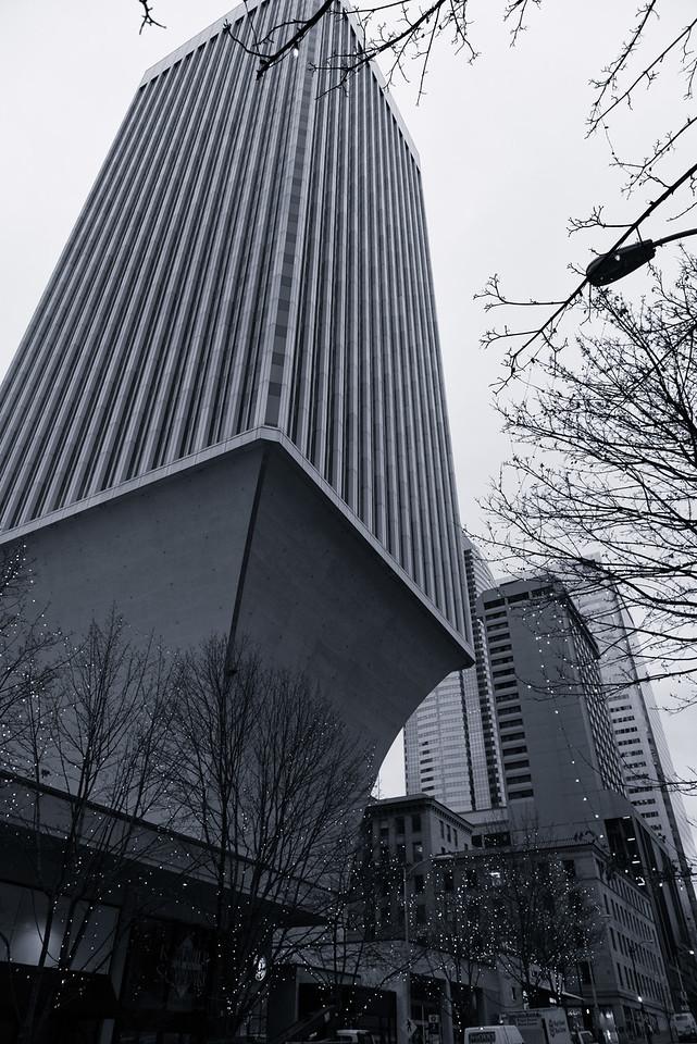 20141223. Rainier Tower at University Street and 4th Avenue, Seattle WA.