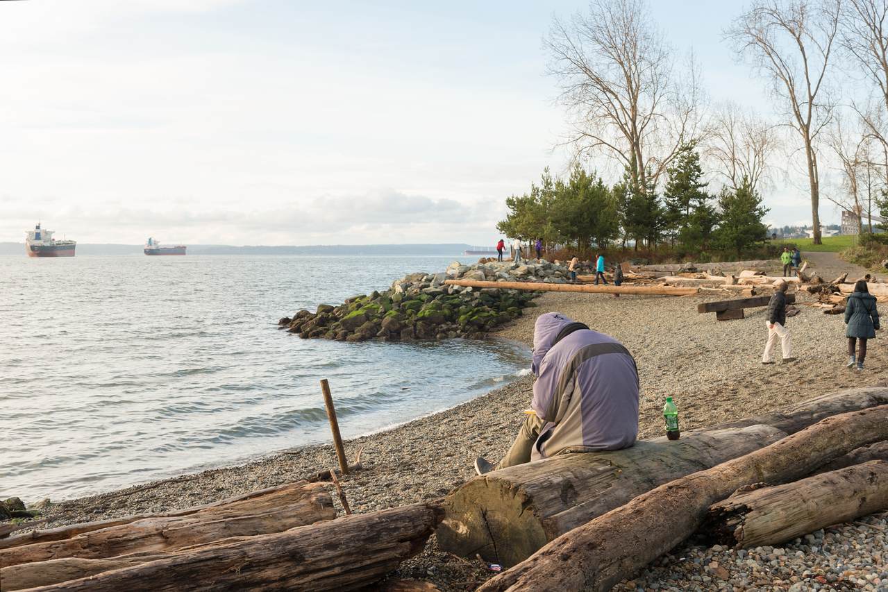 20141225.  Myrtle Edwards Park, Seattle WA.