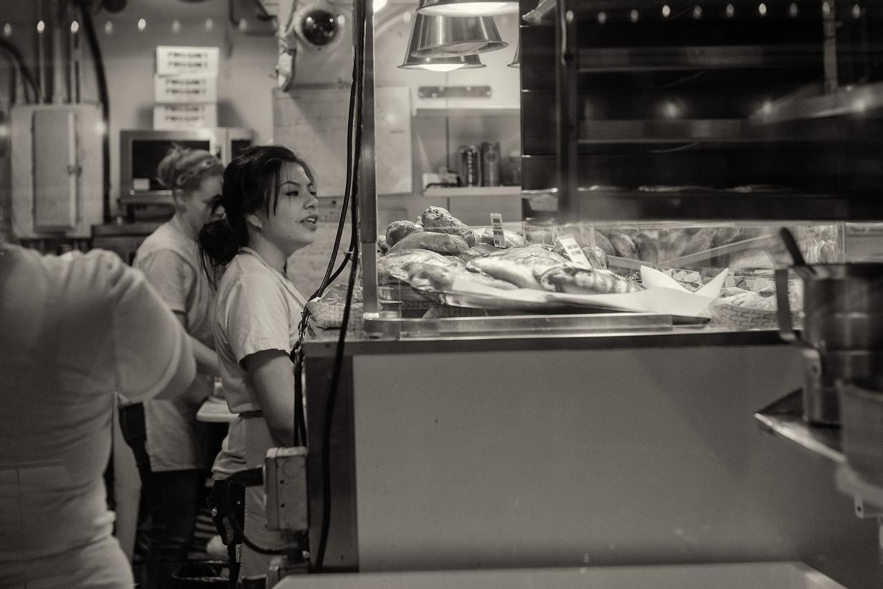 20141223.  Pasty shop on Pike Place, Seattle WA.