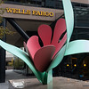 "20161003.  ""Seattle Tulip"" sculpture by Tom Wesselmann at 3rd Avenue and Madiston Street (Wells Fargo location), Seattle WA."