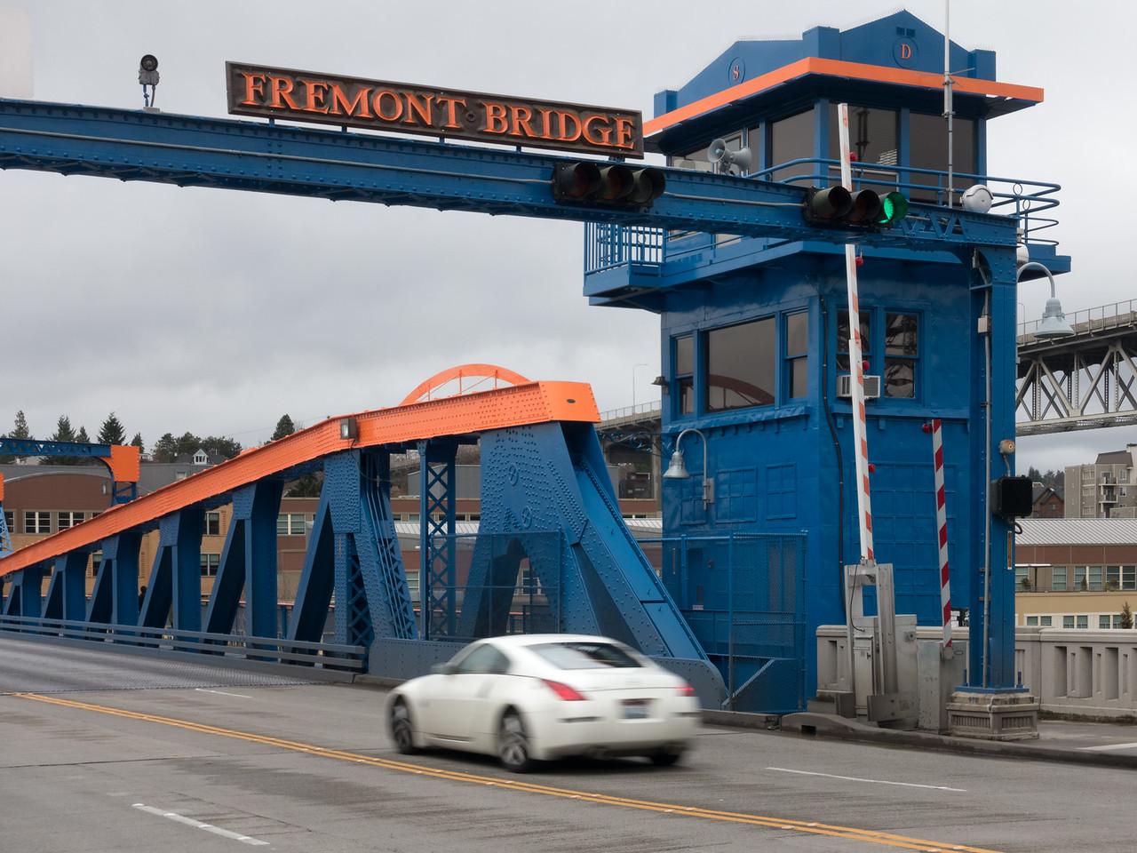 20151224.  Fremont Bridge, Seattle WA.