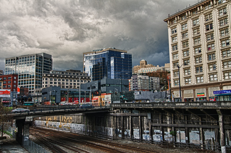 Seattle Rail Yard