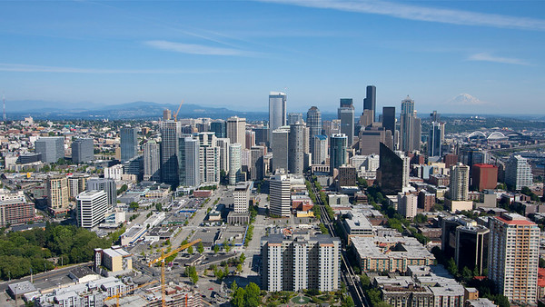 Taken from the Space Needle