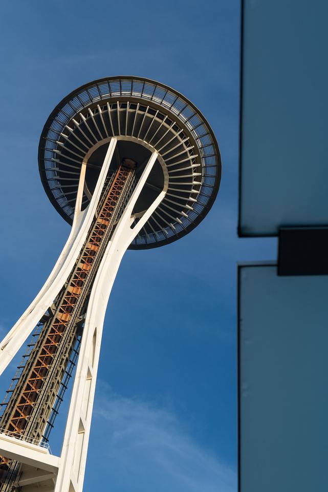 26 December 2013.  Seattle Space Needle.