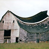 Falling Down Barn - Washington State Highway - May 1998