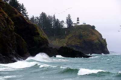 Cape Disappointment Lighthouse - Cape Disappointment - Washington Travel Photography - USA