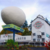 World's Largest Egg- Winlock - Washington Travel Photography - USA