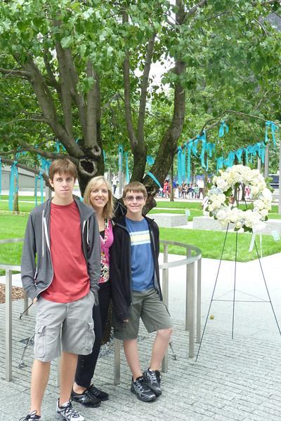 911 Memorial, Survivor's Tree
