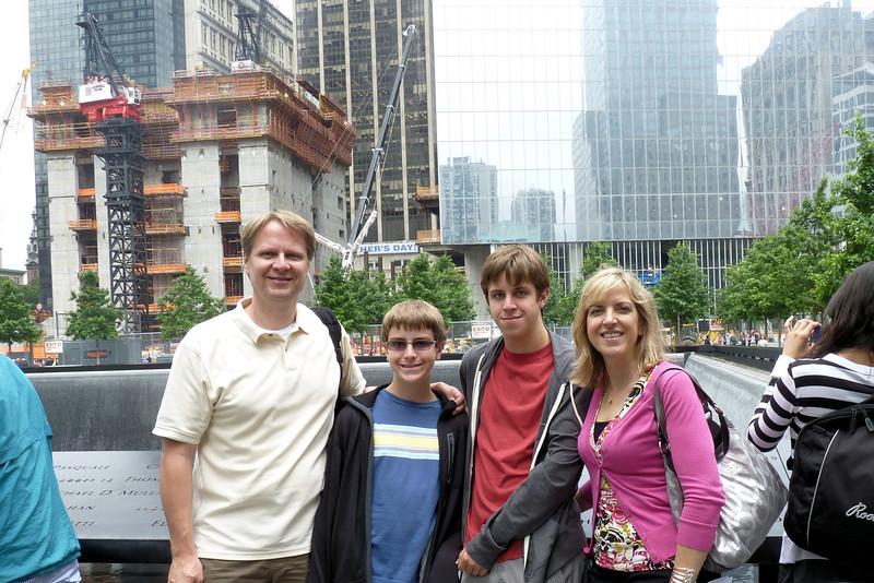 At the 911 Memorial