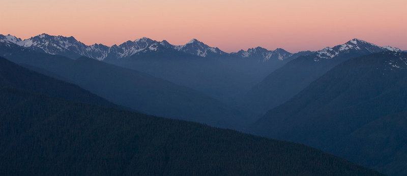 Hurricane Ridge at Sunrise