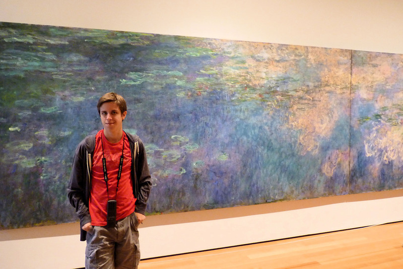 Jacob at MOMA