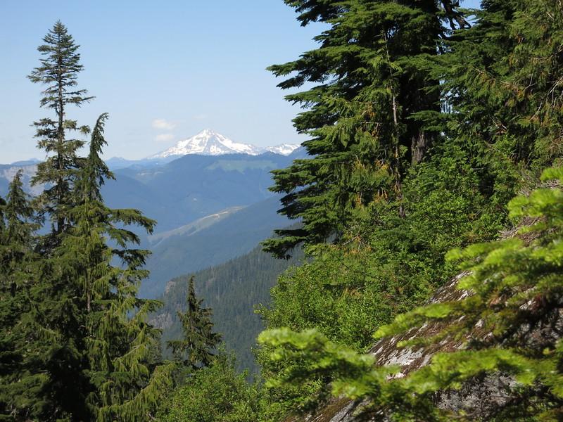 Glacier Peak again, my favorite of the Cascade volcanoes.