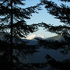 On Friday, Aug. 5, I hiked up the Mason Lake Trail. Mt. Rainier started to peek over the ridges as I ascended the trail.