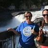 Heather and Casey at Spokane Falls.