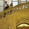 On Tuesday we walked around the University of Washington campus. Here are Ellie and Katelyn in Suzzallo Library.