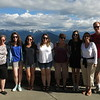 Heather, Casey, Katelyn, Lindsey, Ann, Ellie, Lisa, me, at Hurricane Ridge.