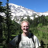 There were views of Mt. Rainier a little further up the trail.