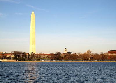 Washington Monument and George Washington Masonic Memorial