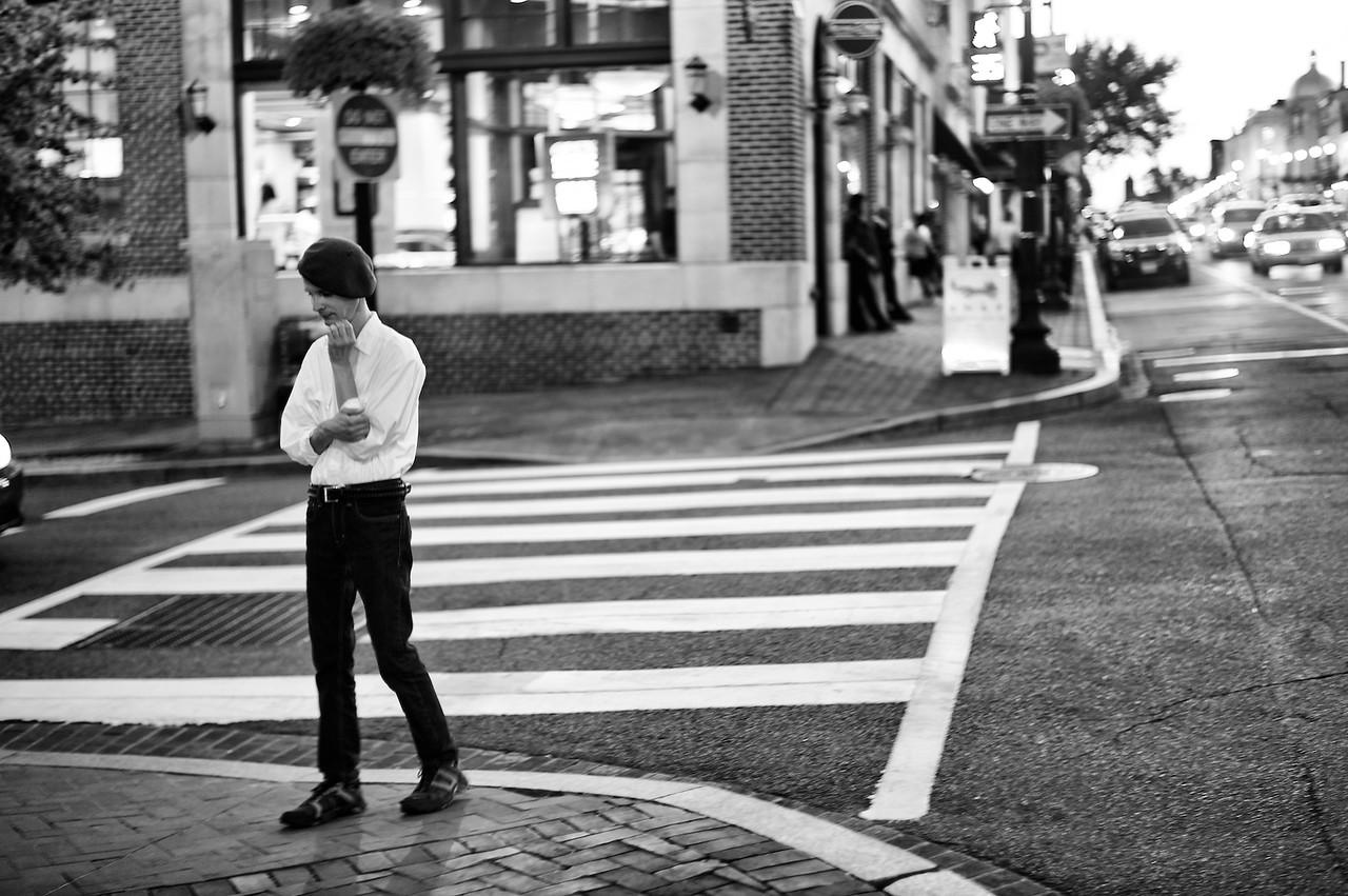 Street shot, DC.