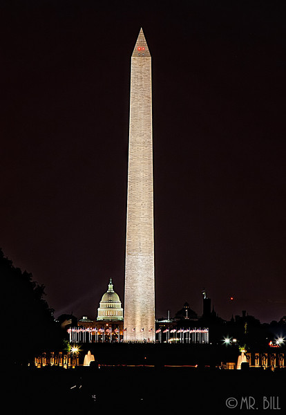 Washington Monument as seen from Lincoln Memorial