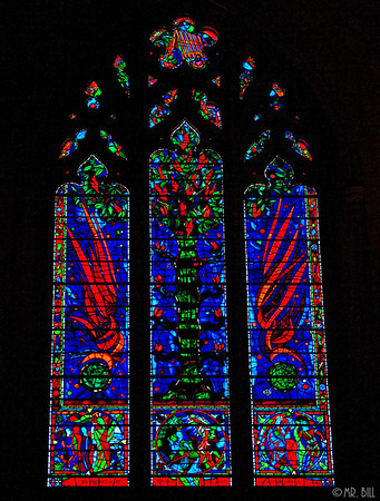 Stained Glass in National Cathedral