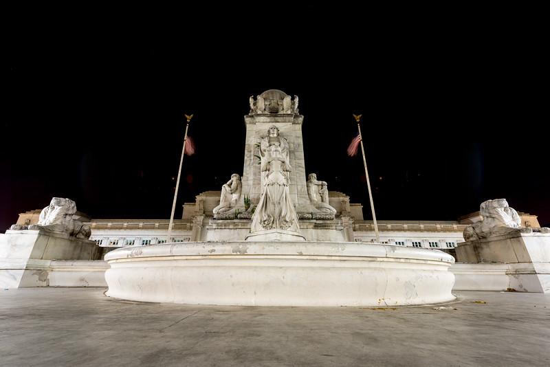 Columbus Fountain - Union Station, Washington, DC