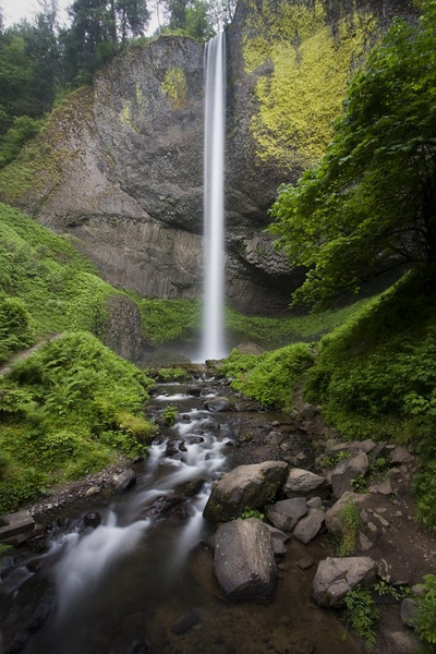 Latourell Falls - Height: 249 ft.