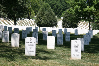 Arlington National Cemetery  The final resting place for over 300,000 veterans who served the nation.