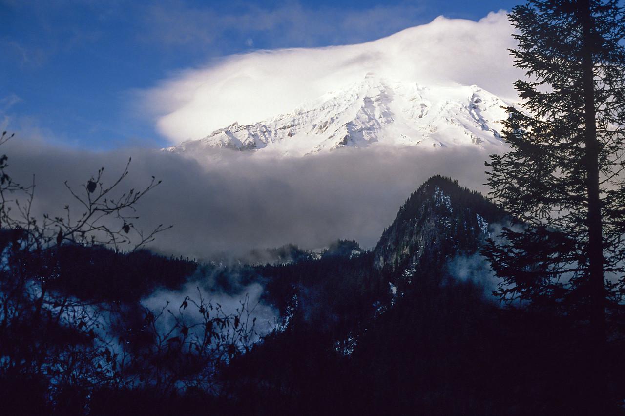Mount Rainier - January 1990