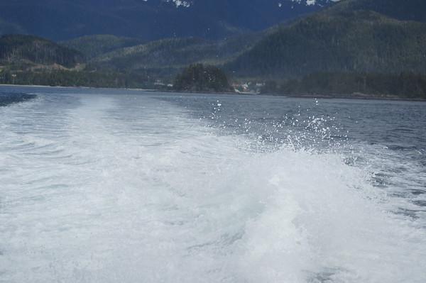 water spray st lazaria island sitka