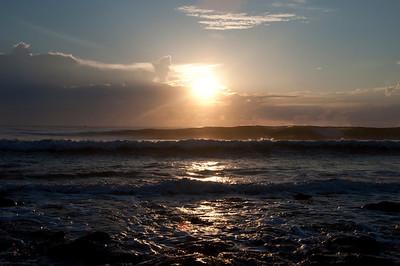 Sunrise over the ocean is always beautiful