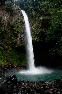 I enjoy waterfalls and this one is located just outside of La Fortuna, Costa Rica.