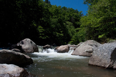 The end of the Green River hike near Saluda North Carolina. The perfect place to soak up the sun.