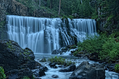 Middle McCloud Falls, Shasta