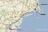 Boston, MA to 221 Carriage Ln, Huntingtown, MD 20639 - Google Maps