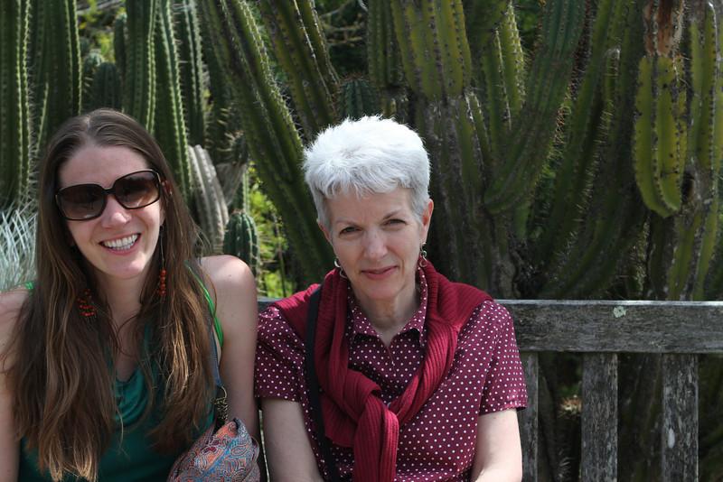 Laura and Sarah enjoy the East Bay sunshine
