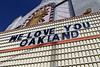The Majestic Parkway says Good bye and WE LOVE YOU OAKLAND